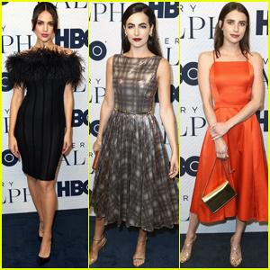 Eiza Gonzalez Joins Camilla Belle & Emma Roberts at 'Very Ralph' Premiere