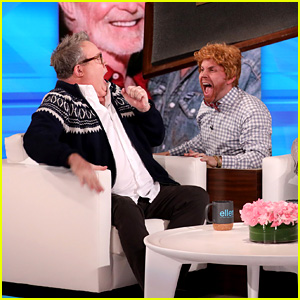 Eric Stonestreet Gets Scared Multiple Times During 'Ellen' Appearance - Watch!