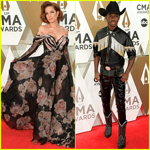 Halsey & Lil Nas X Bring Their Fashion A-Game to First CMA Awards!
