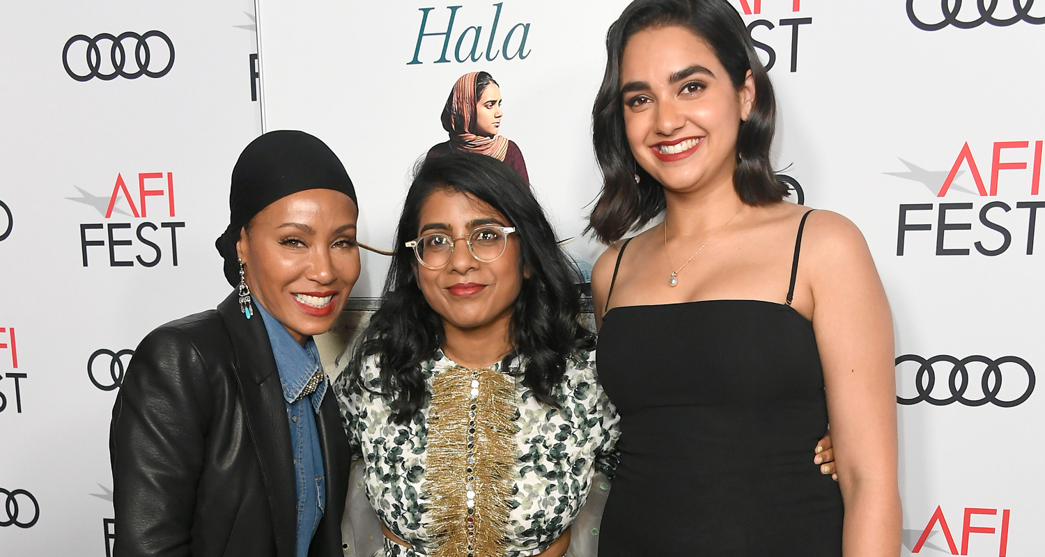 Jada Pinkett Smith Joins 'Hala' Cast at AFI Fest Screening!