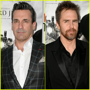 Jon Hamm & Sam Rockwell Premiere 'Richard Jewell' at AFI Fest 2019
