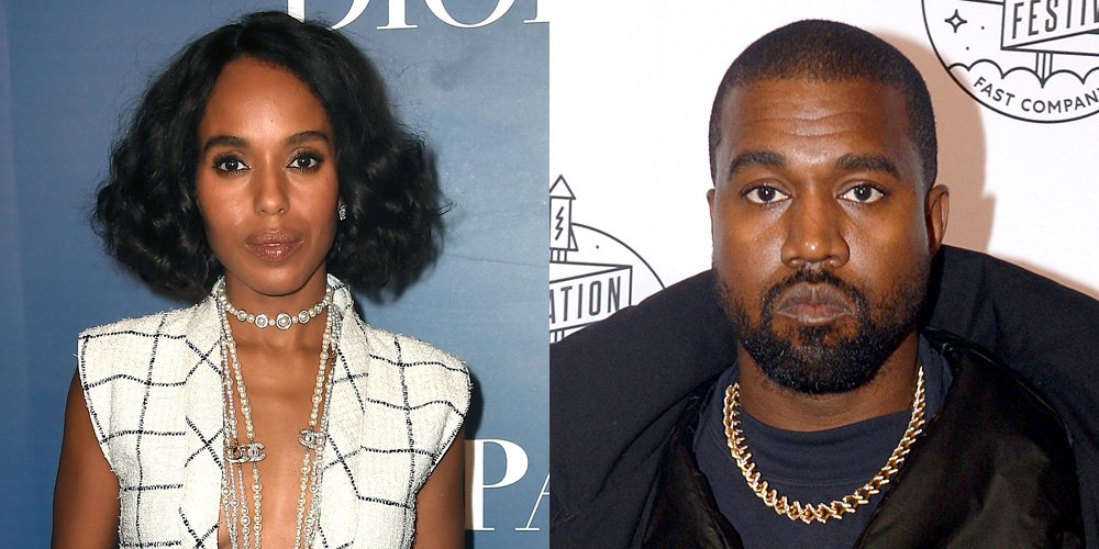 Here's Why Kerry Washington Gets Texts That Are Actually For Kanye West - Just Jared