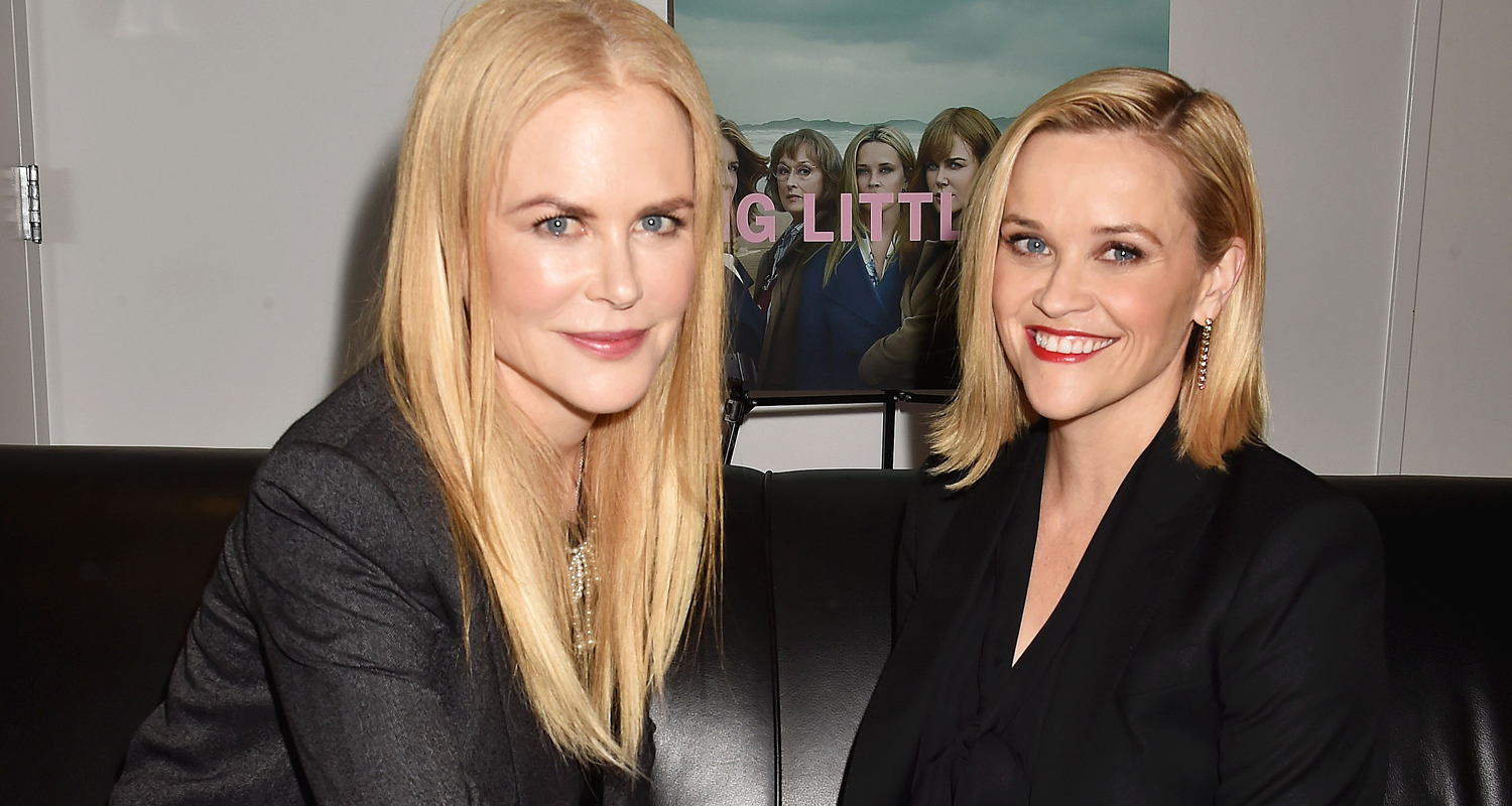 Nicole Kidman & Reese Witherspoon Tease 'Big Little Lies' Season Three! - Just Jared