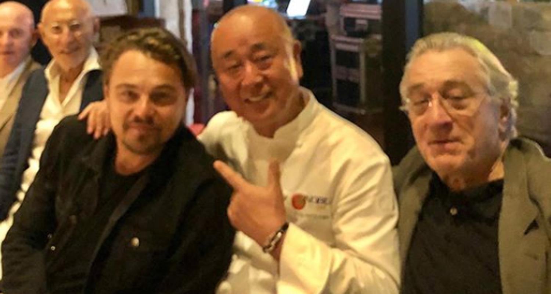 Leonardo DiCaprio & Robert De Niro Celebrate Nobu Hotel Opening in Los Cabos