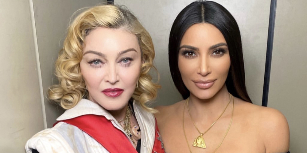 Madonna Shares Pictures & Video With Kim Kardashian at 'Madame X Tour'!