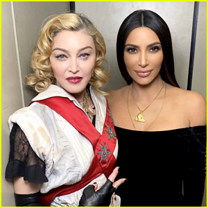Madonna Shares Pictures & Video With Kim Kardashian at 'Madame X Tour'!