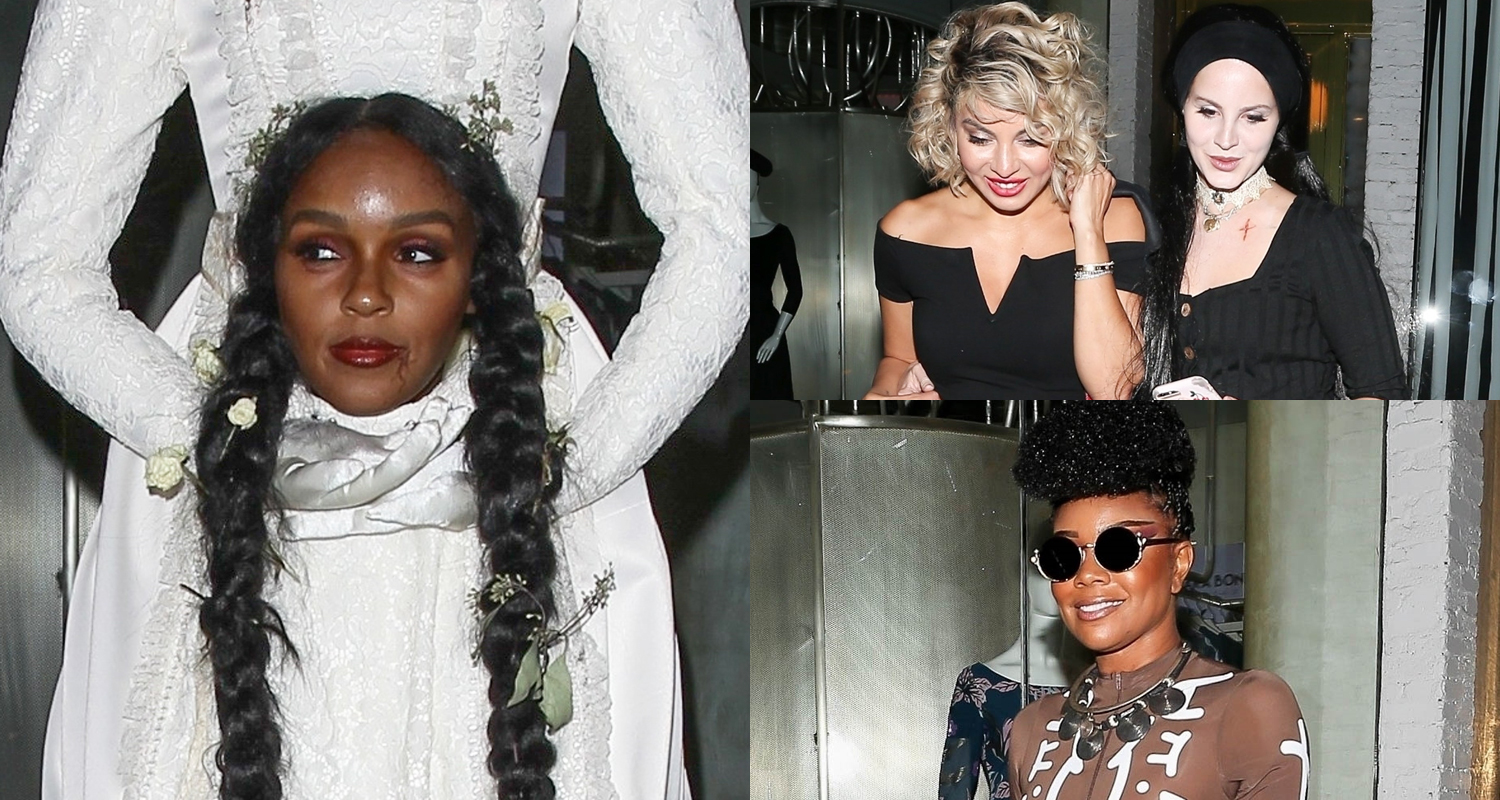 Janelle Monae Lana Del Rey Gabrielle Union More Dress Up For Beyonce Jay Z S Halloween Party 2019 Halloween Alicia Keys Beyonce Knowles Cash Warren Gabrielle Union Halloween Janelle Monae