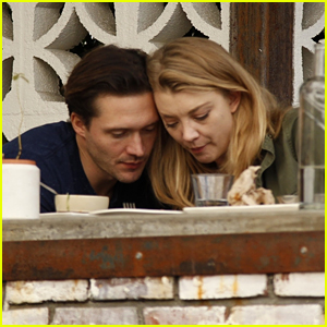 Natalie Dormer & Boyfriend David Oakes Get Cozy at Lunch in LA
