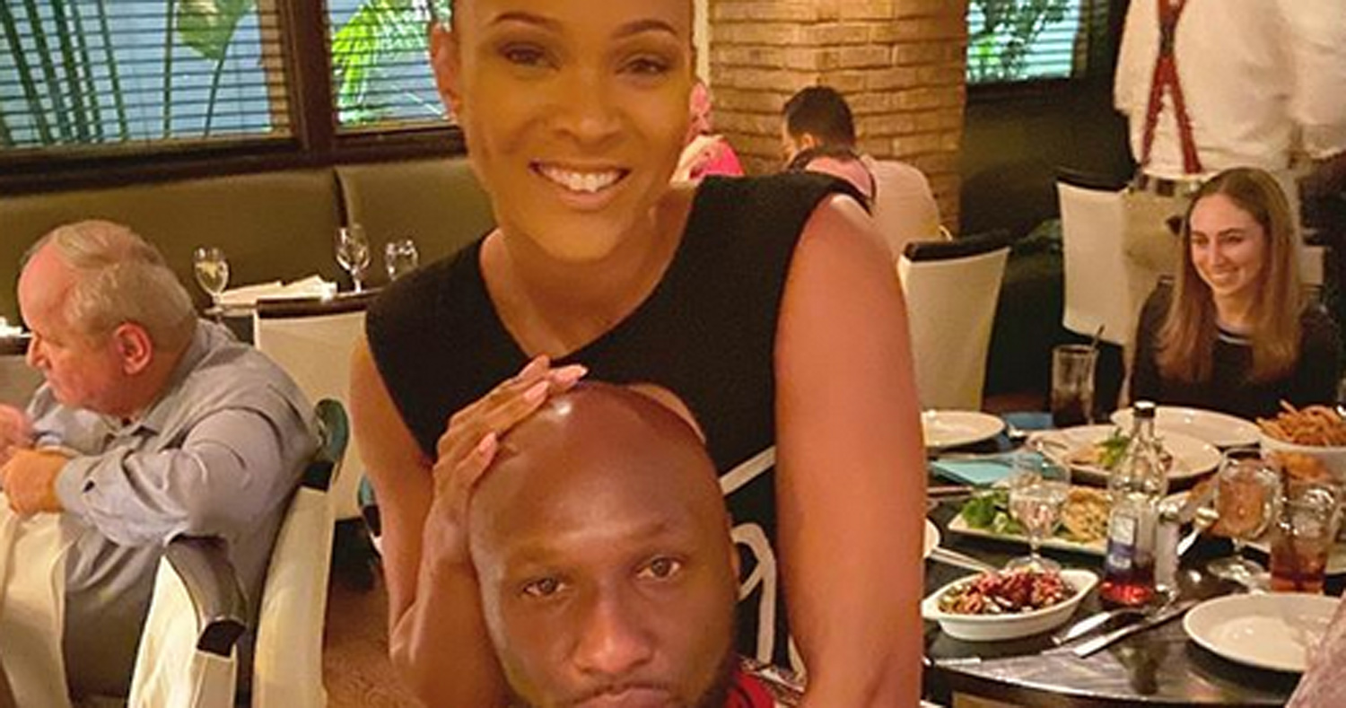 Lamar Odom & Sabrina Parr Are Engaged ? See Her Ring!