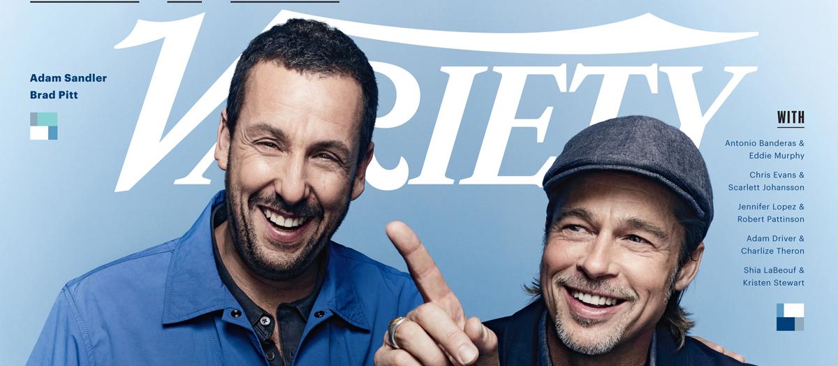 Brad Pitt Tells His Favorite Adam Sandler Story & Adam Confirms Every Detail Is True - Just Jared