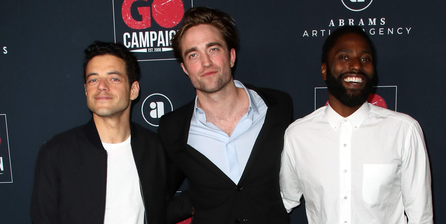 Robert Pattinson Hangs Out with Rami Malek & John David Washington at Go Gala 2019