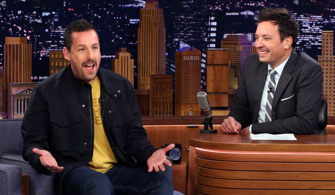 Adam Sandler Thought He'd Get Oscar Buzz for 'Billy Madison'! - Just Jared