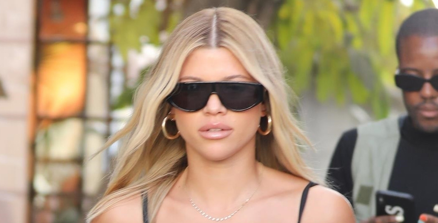 Sofia Richie Rocks Little Black Dress for Day Out in WeHo
