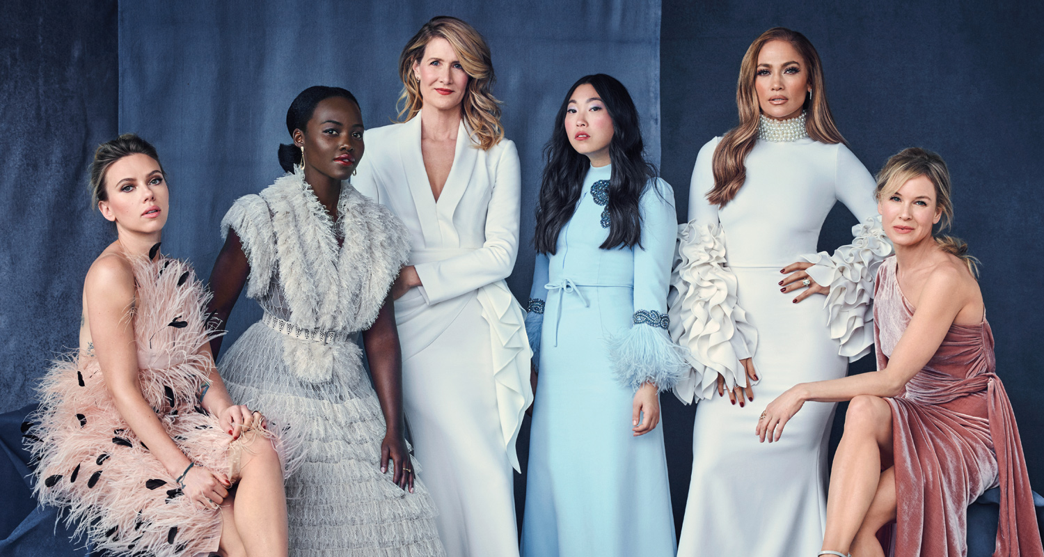 Jennifer Lopez, Laura Dern, Lupita Nyong'o & More Cover THR's Actress Roundtable Issue
