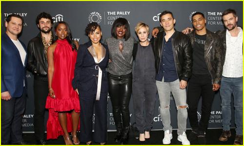 Viola Davis & 'HTGAWM' Cast Mates Promote Final Season at PaleyLive