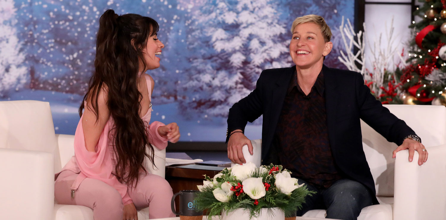 Camila Cabello Talks to Ellen About Shawn Mendes & Their Original Crushes on Each Other