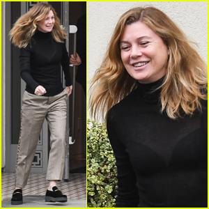 Ellen Pompeo is All Smiles During Afternoon Outing!