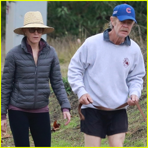 Felicity Huffman & William H. Macy Couple Up for Morning Hike