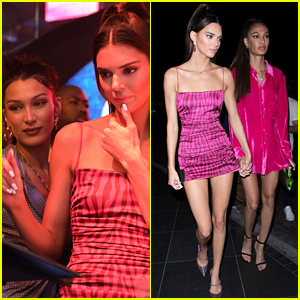 Kendall Jenner DJs & Parties With Bella Hadid & Joan Smalls at Art Basel!