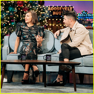 Nick Jonas & Rashida Jones Settle Their Beef on 'Late Late Show' (Video)
