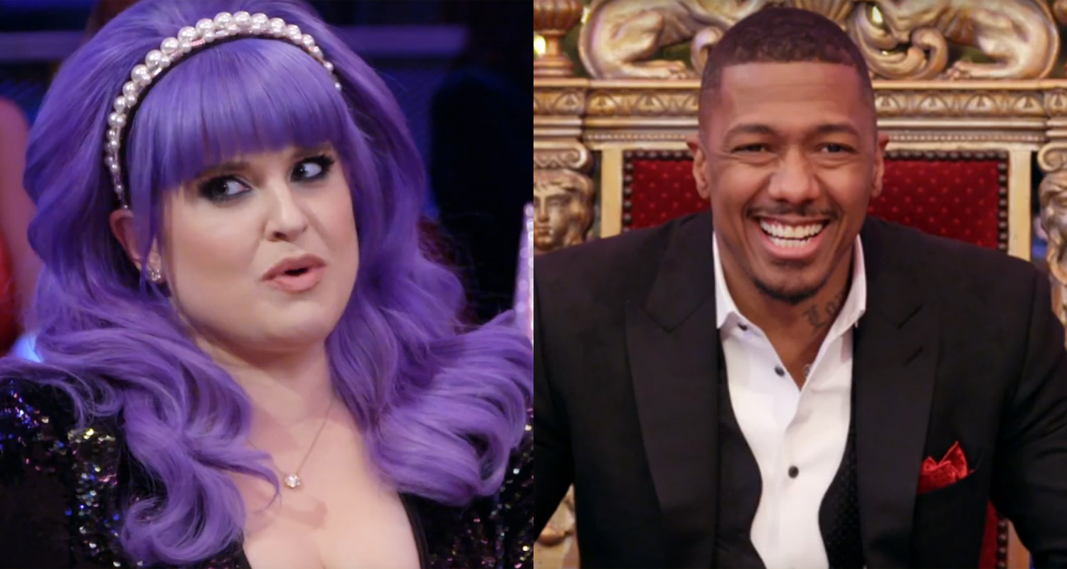 Kelly Osbourne Tells Nick Cannon About Pranking Dad Ozzy During 'Viral Videos' – Watch!   Kelly ...