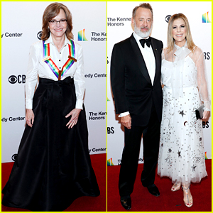 Sally Field Gets Tom Hanks' Support at Kennedy Center Honors!
