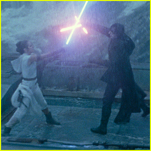 That Big Kylo Ren Rey Moment In Star Wars The Rise Of Skywalker Explained Star Wars Just Jared