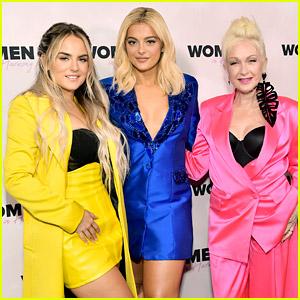 Bebe Rexha Hosts Her Third Annual Women in Harmony Brunch During Grammys Weekend!