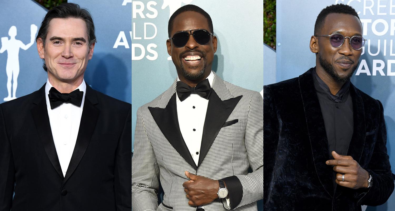 Billy Crudup, Sterling K. Brown, & Mahershala Ali Look Sharp at SAG Awards 2020