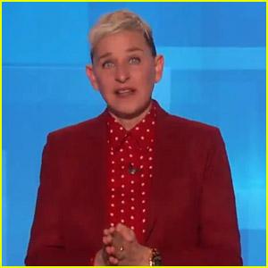 Ellen DeGeneres Tears Up While Honoring Kobe Bryant on Her Show