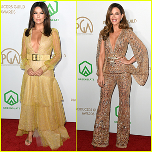 Eva Longoria & Kate Beckinsale Dazzle at Producers Guild Awards 2020
