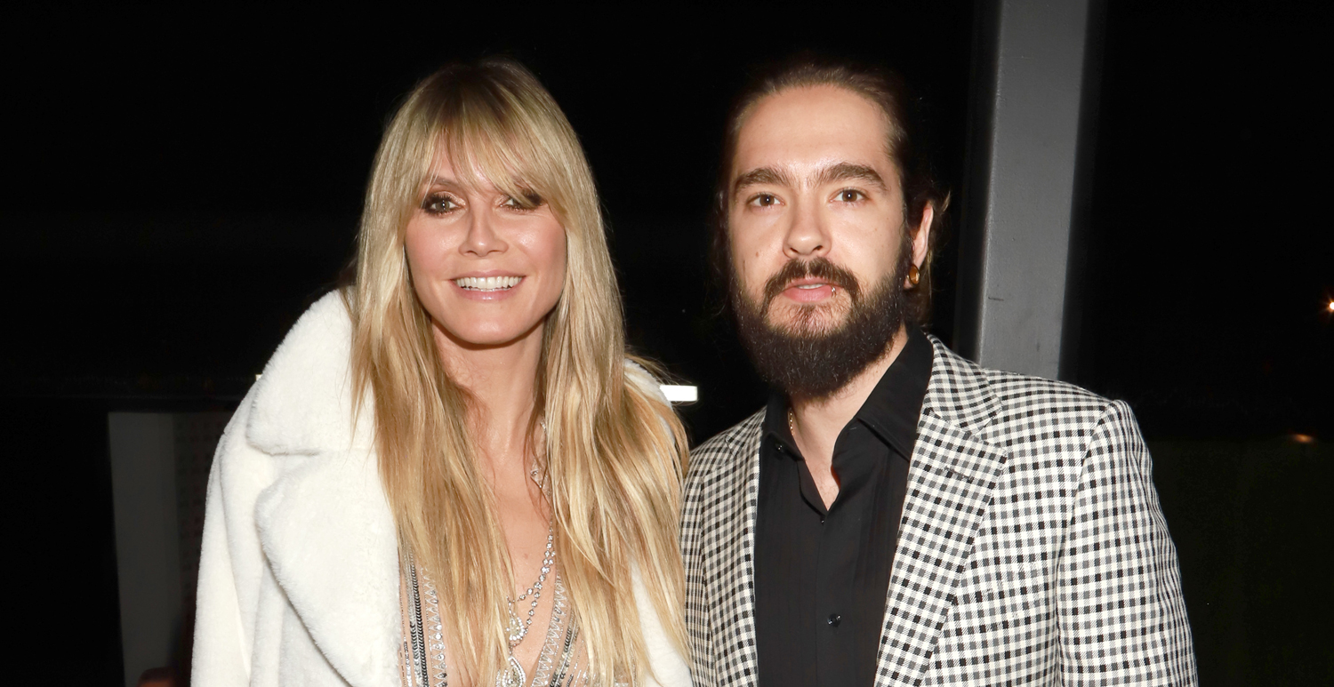 Heidi Klum & Husband Tom Kaulitz Couple Up for Universal Music Group's Grammys After-Party!