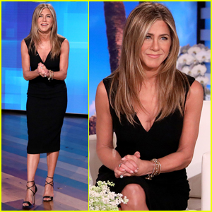 Jennifer Aniston Reveals Dark 'Secrets' About BFF Ellen DeGeneres While Guest Hosting Her Show - Watch!