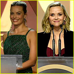 Margot Robbie & Reese Witherspoon Skip the Red Carpet at Producers Guild Awards 2020