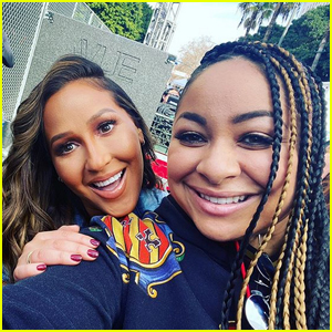 Raven Symone & Adrienne Bailon Have 'Cheetah Girls' Reunion at Women's March 2020!