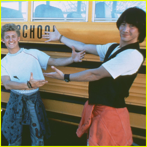 Alex Winter Reveals Never-Before-Seen Pics From 'Bill & Ted' Set with Keanu Reeves!