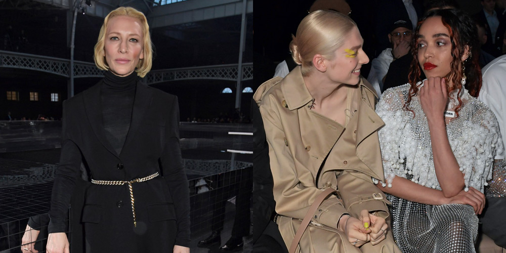 Cate Blanchett, FKA twigs, & More Sit Front Row for Burberry's London Fashion Show