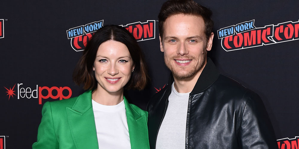 Outlander's Caitriona Balfe Actually Doesn't Picture Sam Heughan as Jamie Fraser