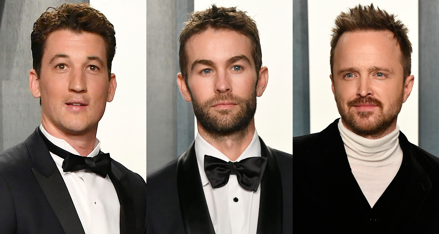 Miles Teller, Chace Crawford, & Aaron Paul Are Dapper Dudes at Vanity Fair Oscar Party 2020!