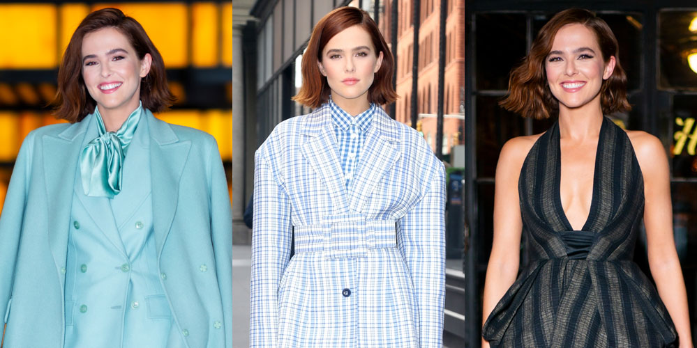 Zoey Deutch Rocks Three Chic Outfits for One Big Day of Press