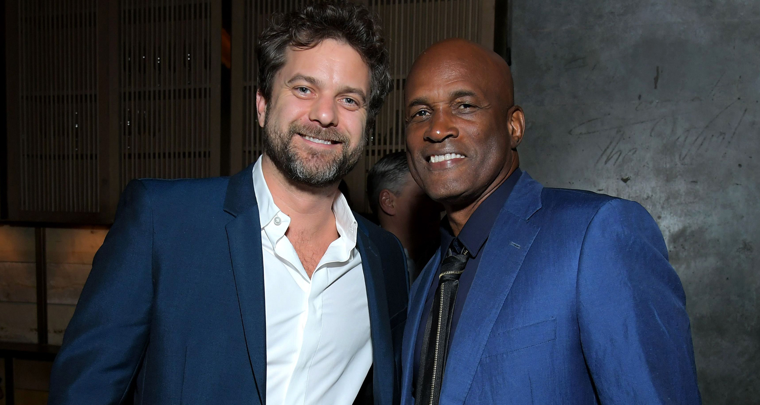 Joshua Jackson Supports 2020 NAACP Nominees at Ted's Toast!