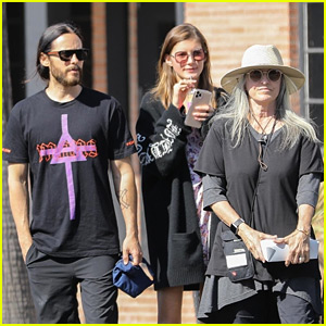 Jared Leto & Girlfriend Valery Kaufman Are Still Going Strong, Spend the Day with His Mom!