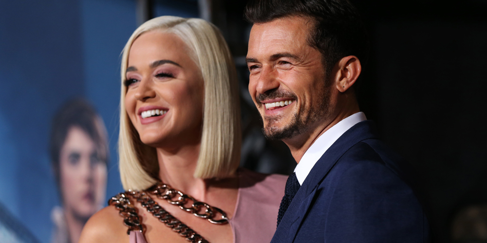 Katy Perry & Orlando Bloom Celebrate One Year Anniversary of Engagement With a Big Party!