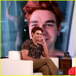 Riverdale's KJ Apa Flashes Ellen DeGeneres, Explains Why He Did It (Video)