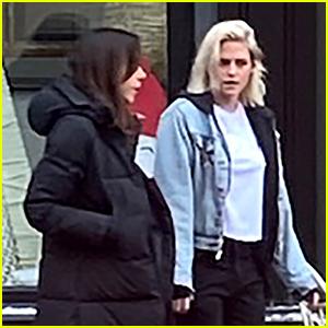 Kristen Stewart's Hair Has Grown While Filming 'Happiest Season' - See Her New Look Here!