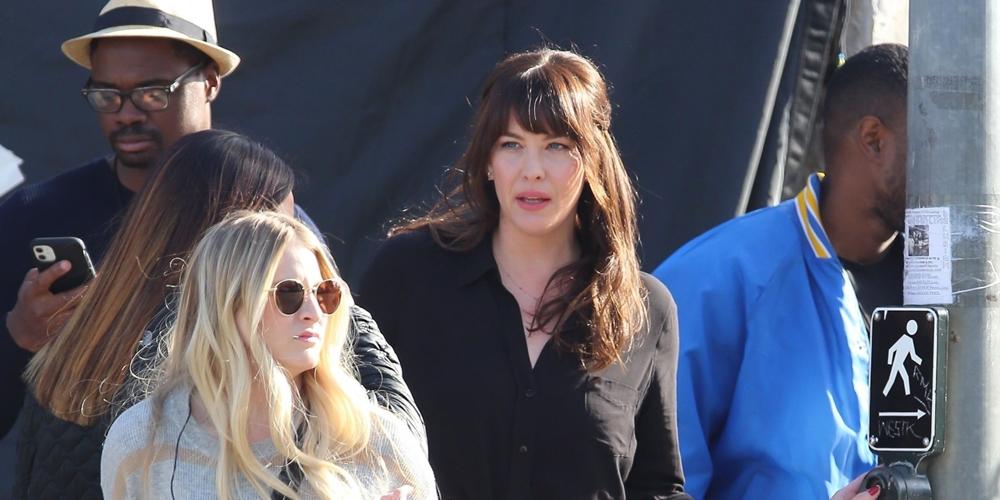 Liv Tyler Films Scenes for '9-1-1: Lone Star' in LA