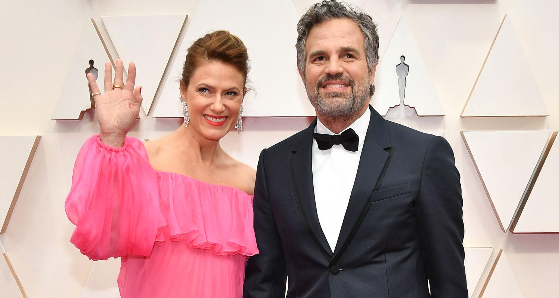 Mark Ruffalo & Wife Sunrise Coigney Couple Up For Oscars 2020