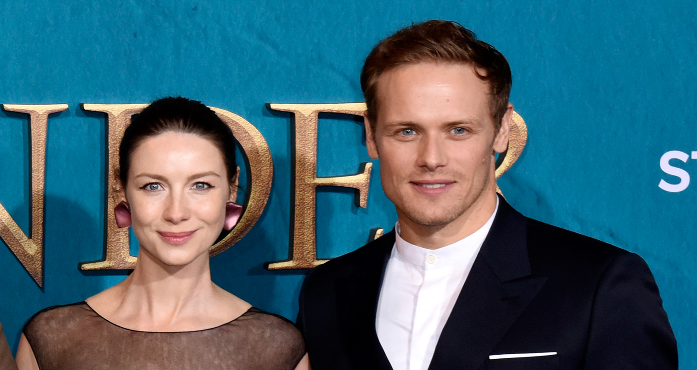Caitriona Balfe & Sam Heughan Reveal Big 'Outlander' News at Season Five Premiere!