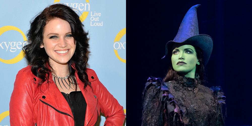 Glee's Lindsay Pearce as Elphaba in 'Wicked' – First Look Photo!