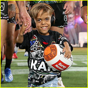 Bullied Australian Boy Quaden Bayles Runs the Field at Rugby Game!
